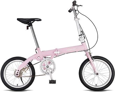 WJSW Bicicletas para niños Bicicleta Plegable Bicicleta para niños ...