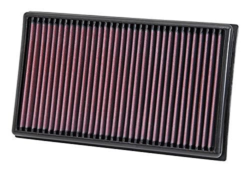 K & N 33-3005 Motorluchtfilter: Hoge prestaties, premium, afwasbaar, vervangingsfilter, verhoogde prestaties, 2012-2019…