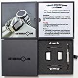 Leatherman Link- watch adapter compatible with LEATHERMAN TREAD - Stainless Steel (compatible with Apple watch 42mm, Stainless Steel, TREAD)