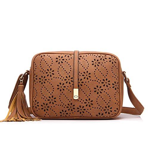 7ed13d0676ea Realer Small Shoulder Bags PU Leather Side Purse Cross Body for Women - Buy  Online in UAE.