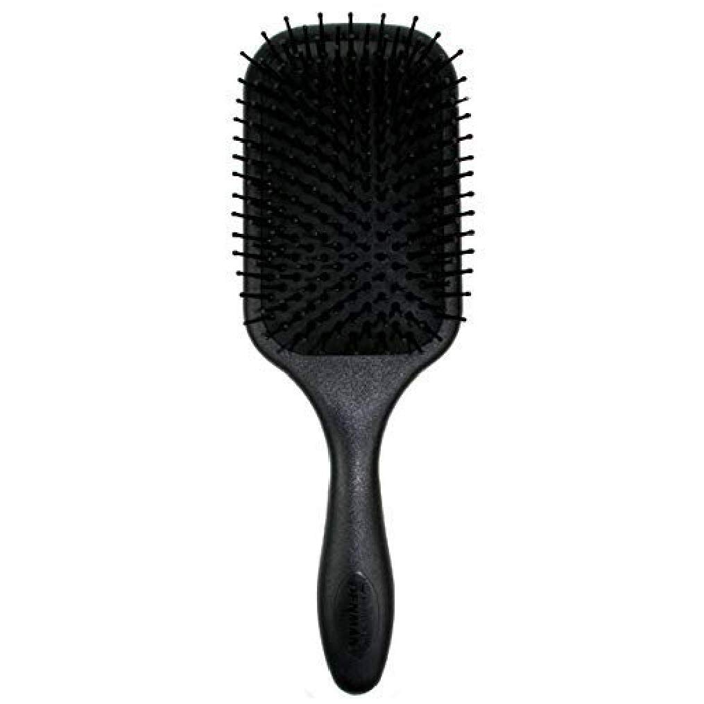 Denman D83 Large Paddle Cushion Hair Brush for Blow-Drying & Detangling - Comfortable Styling, Straightening & Smoothing