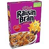 Kellogg's Raisin Bran, Breakfast Cereal, Original, Excellent Source of Fiber, 18.7 oz Box
