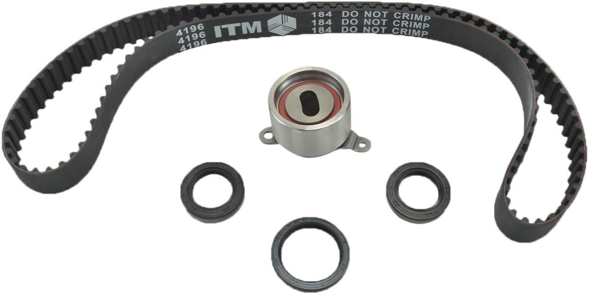 B20B4 //B20Z2 B18B1 ITM Engine Components ITM184 Timing Belt Kit for 1990-2001 Honda//Acura 1.8L 2.0L L4 B18A1