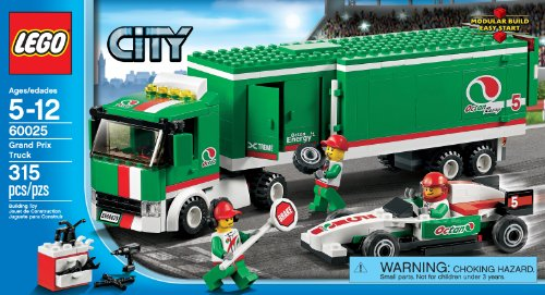 Lego Octan Race Car Transporter