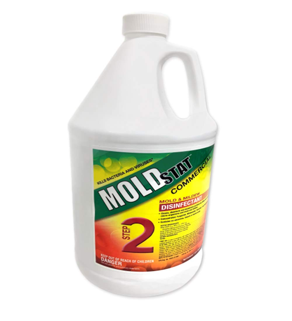 Moldstat Plus Mold & Mildew Killer 1 GAL- Step 2 Disinfectant Formula by Theochemical