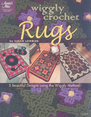 Wiggly Crochet Rugs (Annie's Attic: Crochet)