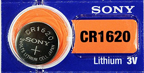 Sony Lithium 3V Batteries Size CR1620 (Pack of 5)