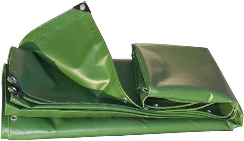 WONG WEI Fundas para Muebles de jardín Lonas Sombrilla Lona Verde del ejército Impermeable al Aire Libre Resistente al Desgaste Camión de protección Solar (Color : Armygreen, Size : 4x6m): Amazon.es: Hogar