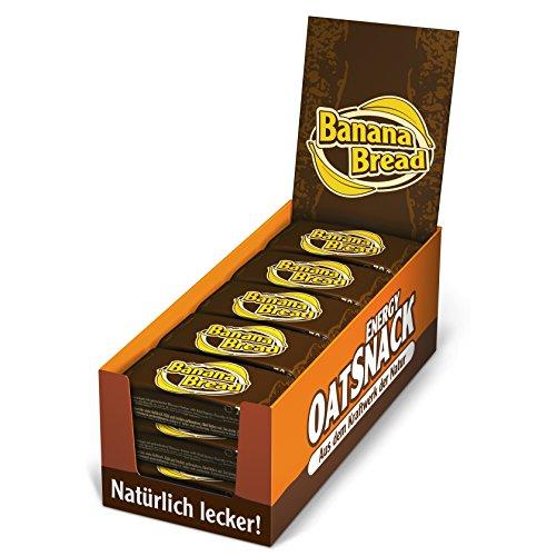 Davina Kohlenhydrat Riegel Oat Snack Riegel, 15 Riegel á 70 g, Banana Bread, 6070l5
