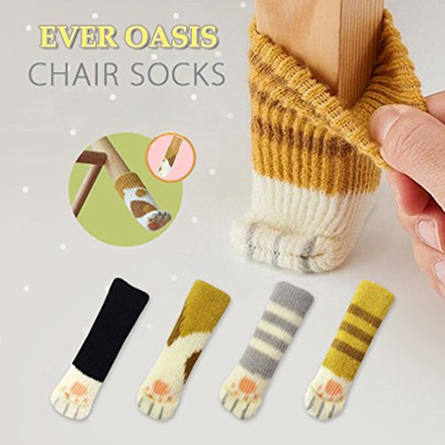 20pcs-5-sets-chair-socks-fancy-table-leg-pads-with-cute-cat-paws-design-reliable-furniture-and-floor