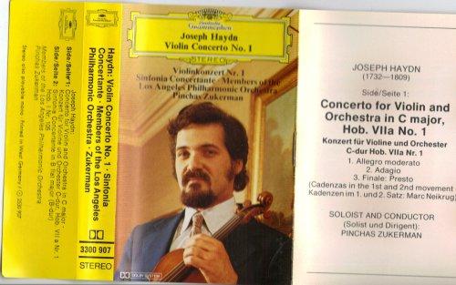 (Franz Joseph Haydn: Violin Concertos No. 1 Sinfonia LA Philharmonic Orchestra : Zukerman : Import)