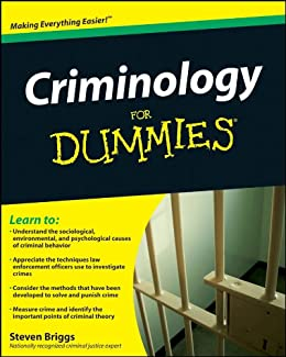 Criminology For Dummies by [Briggs, Steven]
