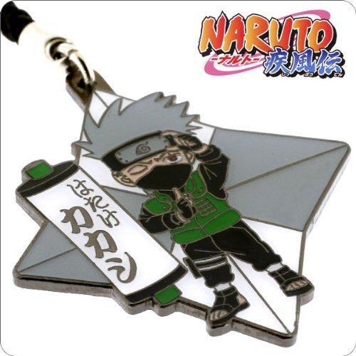 (CafeReo NARUTO Metal Ninja Star Netsuke Cell Phone Charm (Kakashi))