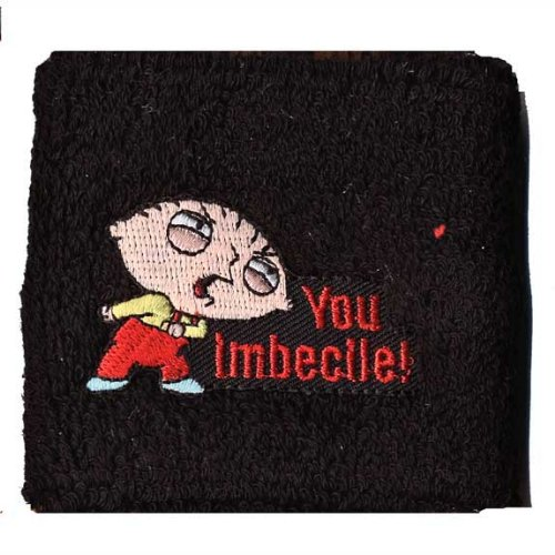 Family Guy - Imbecile Mens Wristband