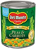 Del Monte Canned Harvest Selects Peas & Carrots , 8.5-Ounce (Pack of 12)