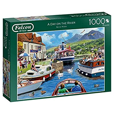Falcon De Luxe 11241 Day On The River Puzzle Da 1000 Pezzi