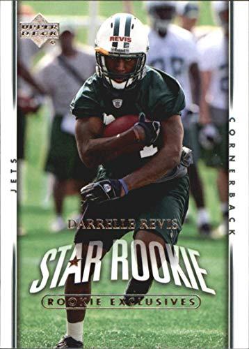 2007 Upper Deck Exclusive Edition Rookies #246 Darrelle Revis NM-MT