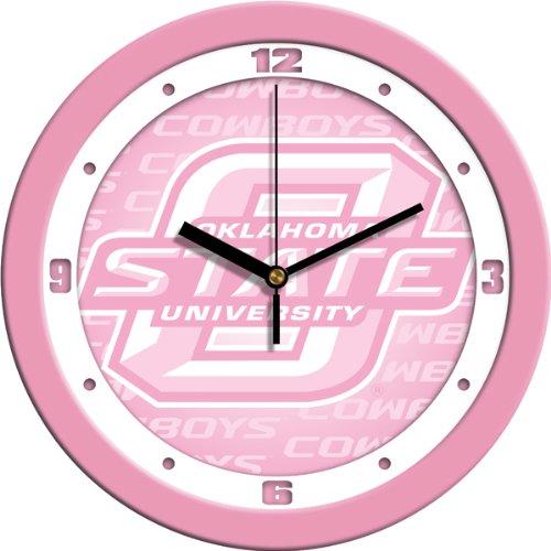 SunTime NCAA Oklahoma State Cowboys Wall Clock - Pink