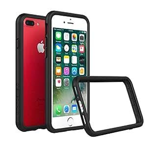 iPhone 7 Plus Case - RhinoShield [CrashGuard] Bumper [11 Ft Drop Tested] No Bulk [ShockProof] Thin Lightweight Protection - Slim Rugged Cover [Black]