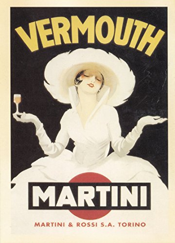 Vermouth Martini Advertising Postcard