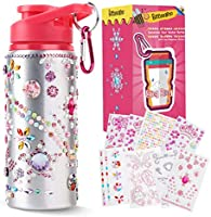 Beewarm Gift for Girls, Decorate & Personalize Your Own Water Bottles with Tons of Rhinestone Glitter Gem Stickers,...
