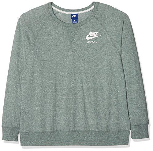 Nike Ah2862 vela Felpa con donna Clay per multicolore Verde cappuccio Green rrq1nxd