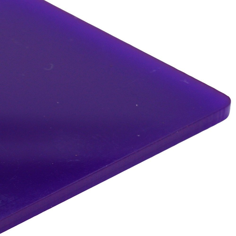 3mm Violet Gloss Cast Acrylic Sheet 16 SIZES TO CHOOSE (420mm x 297mm / A3) Sign Materials Direct