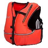 Phantom Aquatics Jacket Style Zippered Snorkel Vest, Orange