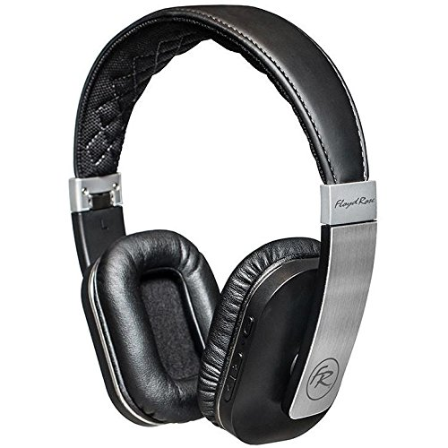 Floyd Rose FR36BK Bluetooth Headphones, Silver/Black