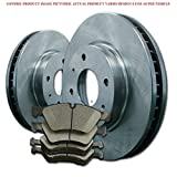 2008 08 2009 09 2010 10 Ford F250 Super Duty (Rear Rotors + Ceramic Pads)