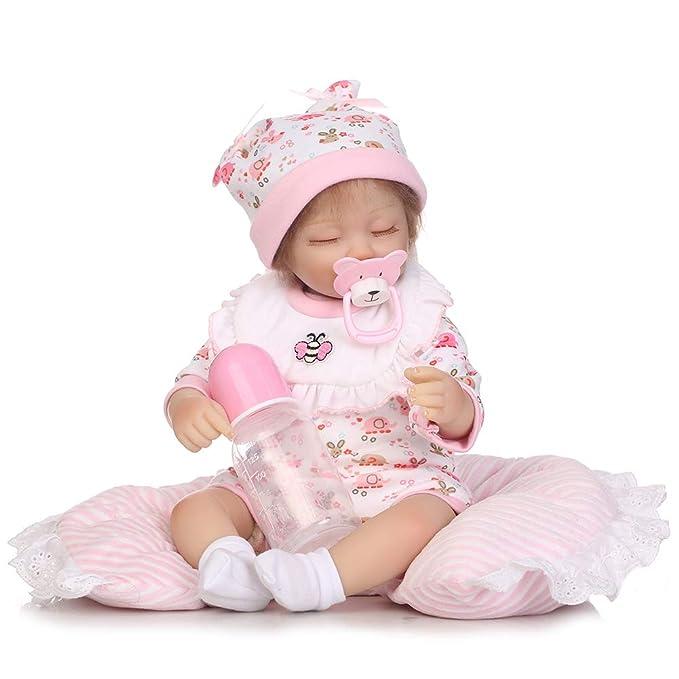 Amazon.com: Muñecas de bebé reborn de 15.7 in, chupete hecho ...