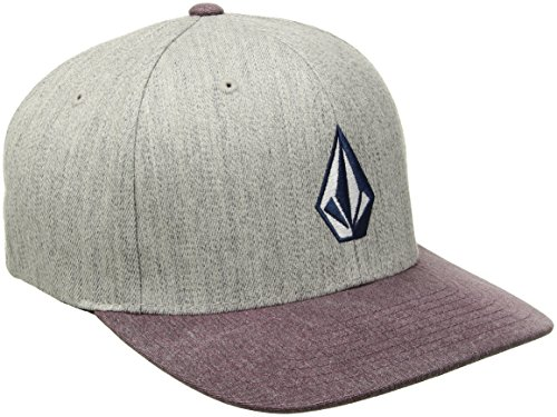 e4facd00bb9d1 Volcom Men s Full Stone Heather Flexfit Stretch Twill Hat