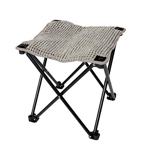 GAOJIAN Portable Folding Stool Outdoor Travel Anti-Skid Fishing Stool Row Stool Pregnant Women Footrest Stool Width 40Cm High 40Cm , c (Aluminium Outdoor Park Furniture)