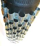 6 Aluminum Stovepipe Heat Reclaimer / Radiators / Heat Exchangers 7 inch Dia stove pipe.