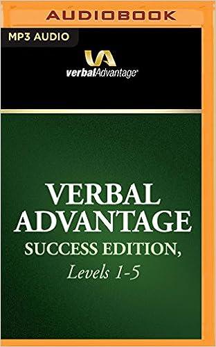 Amazon com: Verbal Advantage Success Edition, Levels 1-5