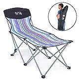 Trail Compact Folding Sun Lounger Portable Beach Recliner Garden Camping With Bag