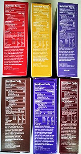 KASHI Snack Bars ULTIMATE VARIETY PACK: 1 Box Each of: GRANOLA & SEED CHOCO CHIP CHIA, HONEY OAT FLAX, CHERRY DARK CHOCOLATE, CHOCOLATE ALMOND & SEA SALT, MIXED BERRY, RIPE STRAWBERRY (6 PACK) by Kashi (Image #1)