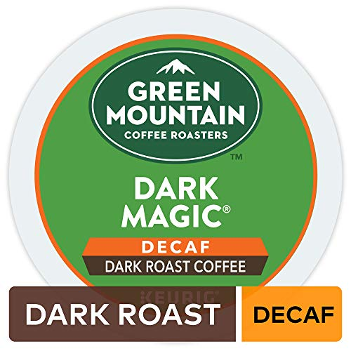 (Green Mountain Coffee Roasters Dark Magic Decaf, Single Serve Coffee K-Cup Pod, Dark Roast, 72 )