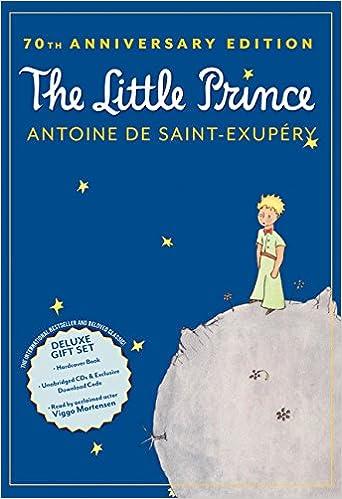 Amazon com: The Little Prince 70th Anniversary Gift Set (Book/CD