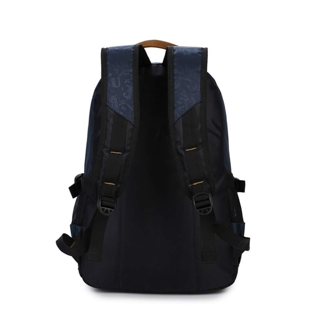 Zlk Backpack Backpack Female College Wind Student Bag MenS Travel Backpack