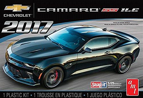 AMT AMT1032 1 2017 Chevy Camaro 1LE - Snap Kit, 1:25 Scale (Model Cars Kits To Build Camaro)