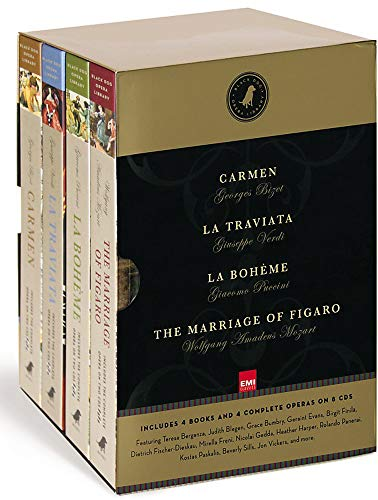 Black Dog Opera Library Box Set: Includes La Bohème, Carmen, La Traviata and The Marriage of Figaro