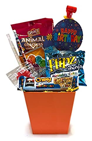 Birthday Gift - Birthday Care Package - Campus Care Package - Birthday Movie Night - Lots of Selections (Birthday Care Package - - Boomer Football