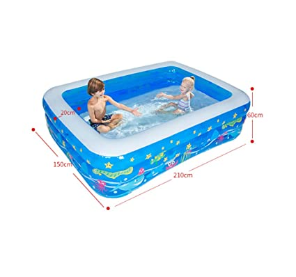 RFVBNM Piscina inflable para niños/baño en casa Barril ...
