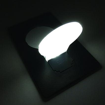 10PCS Card Lamp Bulb Led Keychain Portable USB Power White Mini LED Night Light