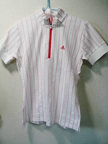 アディダス サッカーストライプ 半袖ジップモック N42989 JO388 size,S