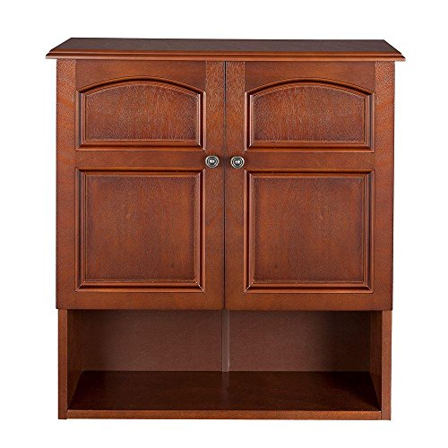 Martha 22-3/10 in. W x 25 in. H x 8 in. D Bathroom Storage Wall Cabinet in Mahogany Color new