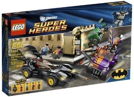 LEGO New 6864 DC Universe Super Heroes Batmobile & The Two-Face Chase Minifigure