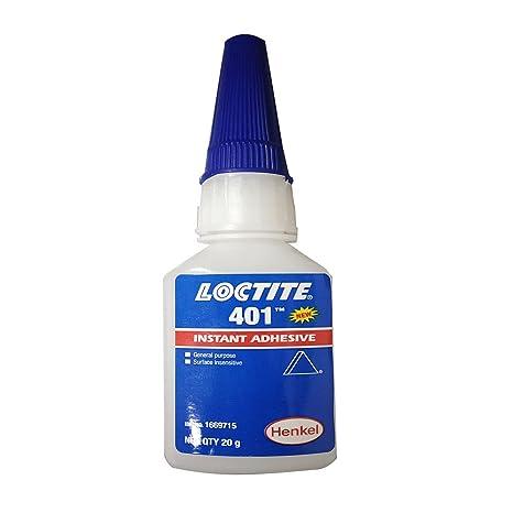 Loctite 401 Super Glue Adhesivo Instantáneo De Goma De Metal Piel De Cerámica Industrial Scientific Amazon Com