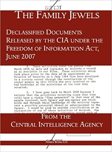 Buy The Family Jewels: Declassified Documents Released by